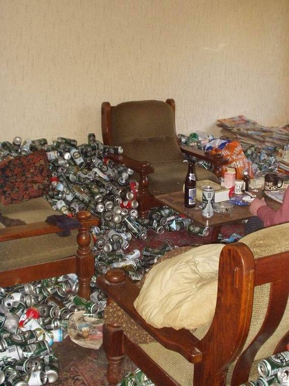 Квартира алкоголика