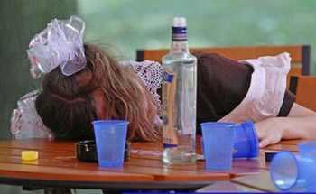 подростковый алкоголизм фото