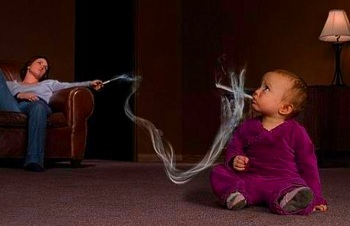 Вред пассивного курения для детей